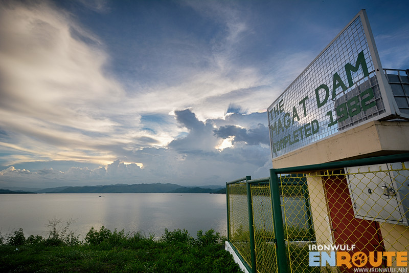 The Magat Dam dam completed in 1982