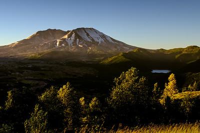 Mt St Helens Morning Light