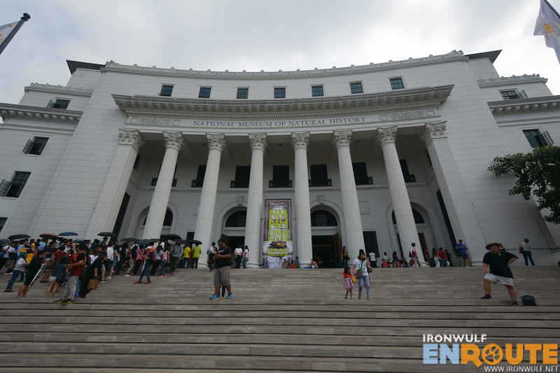 Facade of the National Museum of Natural History