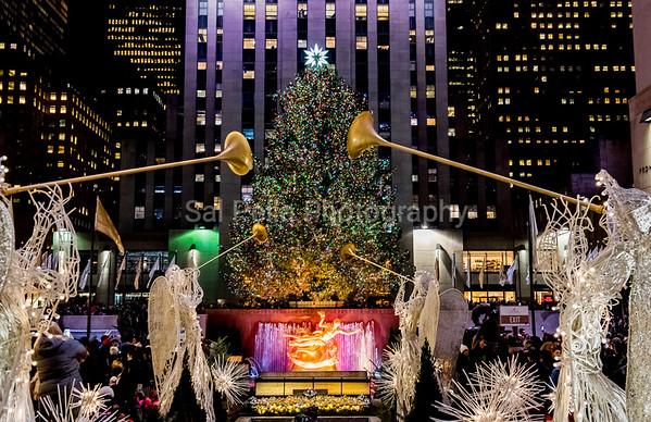 New York City December 2017