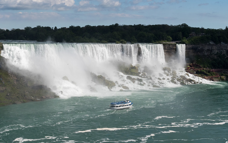 Niagara's American Falls from the Canadian side of the river.