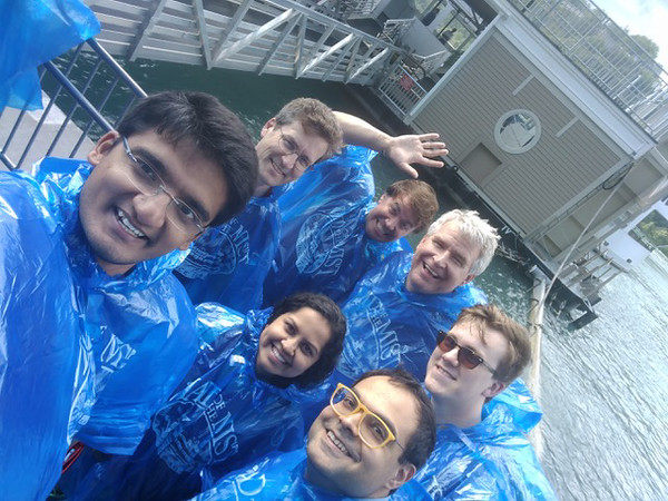 Ready for the Maid of the Mist tour at Niagara Falls.