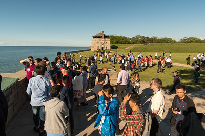MobiSys attendees enjoy Fort Niagara.