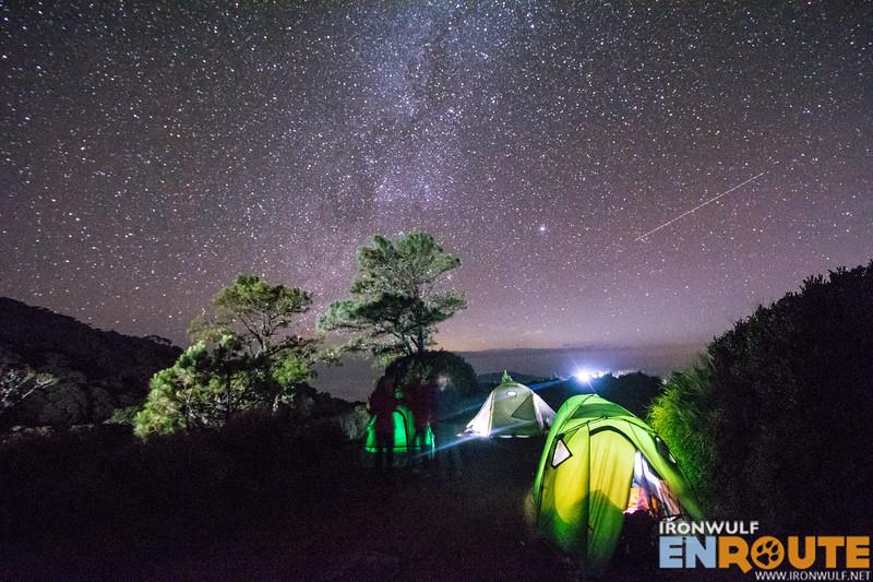 Camping at Mt Pulag