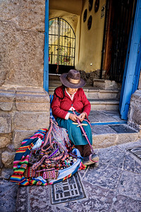 Weaving to Sell - Cusco, Peru