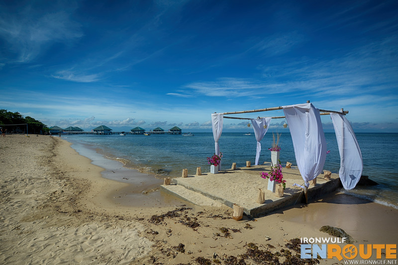 An ideal setting for beach weddings