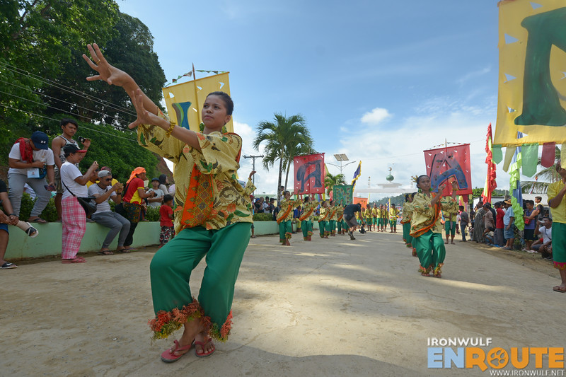Impressive pangalay dance for the street sequence from Languyan contingent