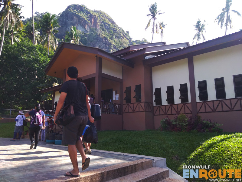 The new administration building of the Bud Bongao Eco-tourism Park