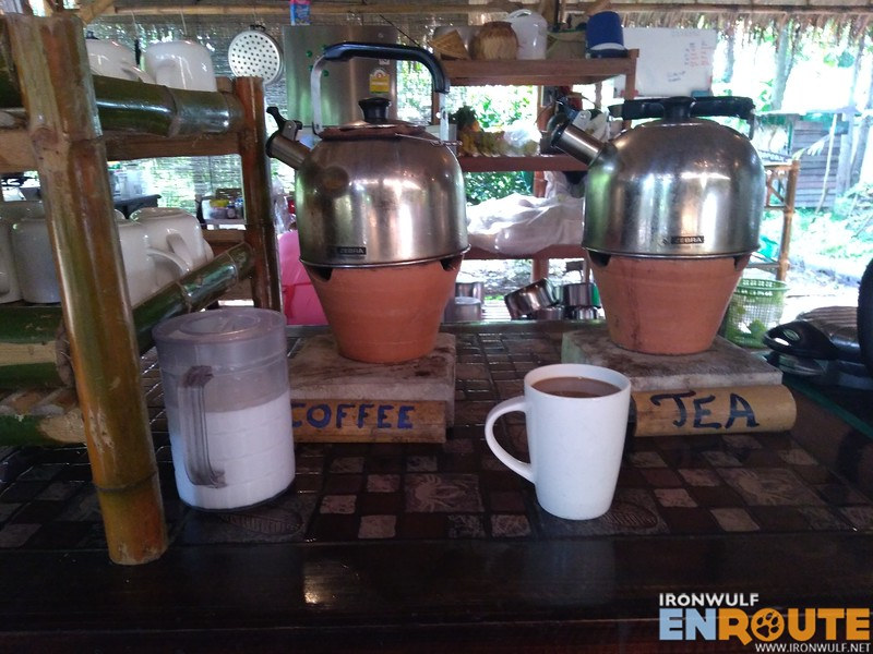 Good coffee and tea