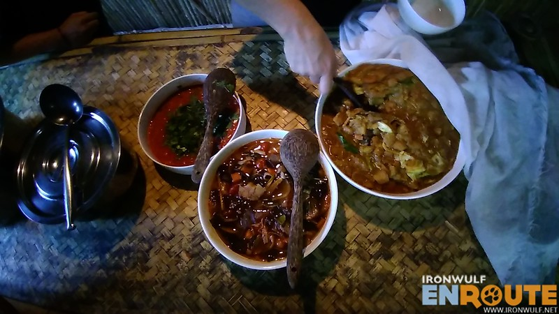 Flavorful Thai food