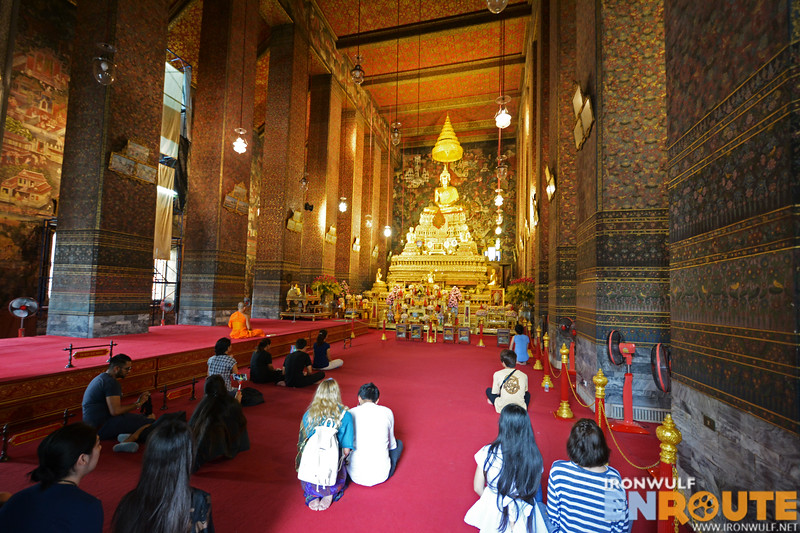 The solemn ordination hall at Phra Ubosot