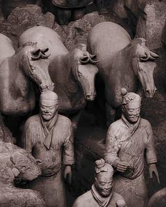 Terracota Warriors - Xian, China