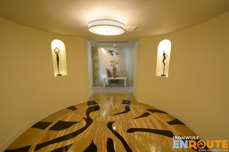 Entrance to the Presidential Aquino Suite
