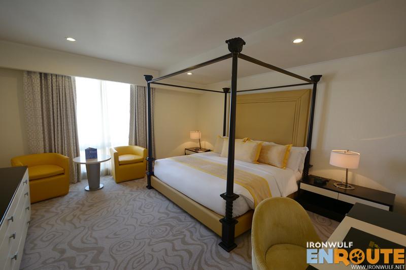 Master bedroom at Aquino Suite