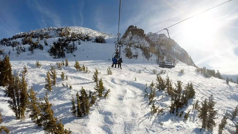 Mammoth Maintain Ski Lift Timelapse