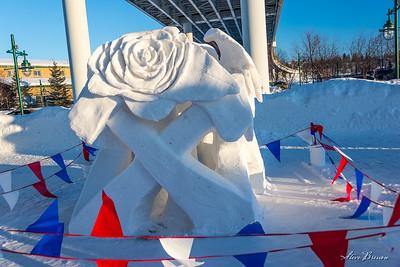 2017 Fur Rondy snow sculpture competition