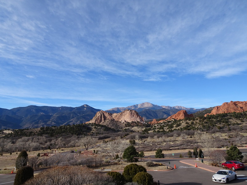 Garden of the Gods, seen from visitor center