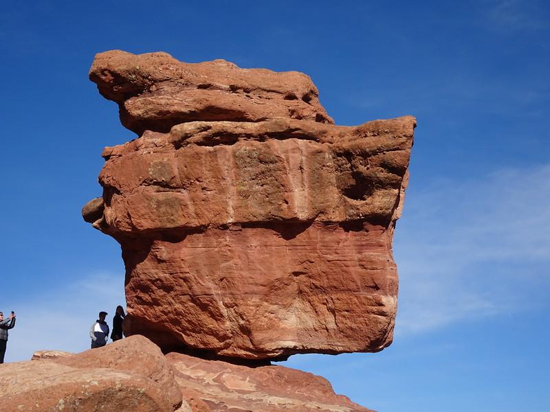 Balancing Rock, at Garden of the Gods