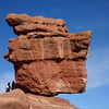 Balancing Rock, at Garden of the Gods