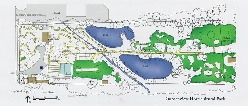 Map of Gardenview Horticultural Park