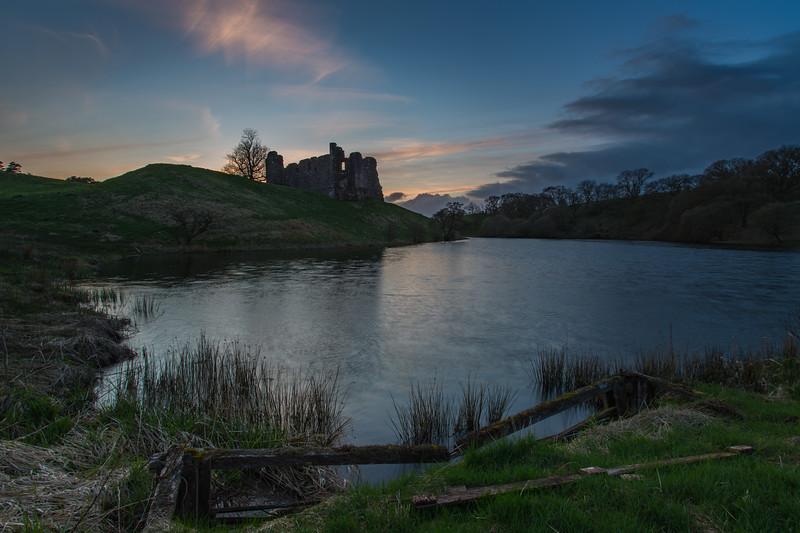 Morton Castle - Dumfries & Galloway, Scotland (April 2018)