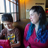 Lunch with Bobbie and Eli at The Athenian Seafood Restaurant and Bar