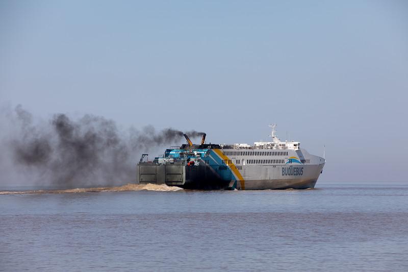 Buquebus trajekt Argentina Uruguay
