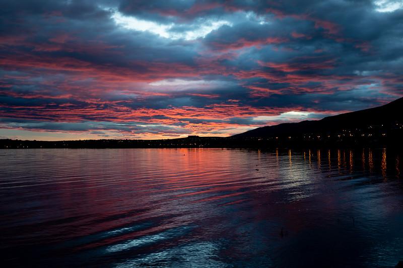 El Calafate sunrise