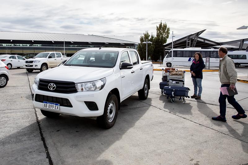 El Calafate Toyota Hilux Dubrovnik