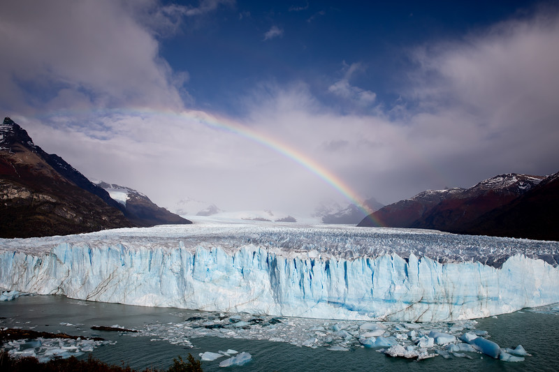 Ledovec Perito Moreno El Calafate Patagonia Argentina
