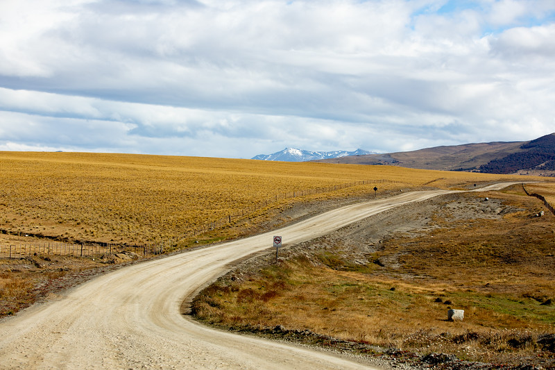 Cesta Argentina Chile Patagonie