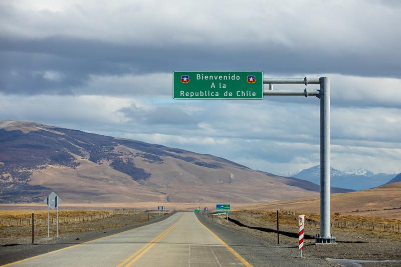 Chile hranice