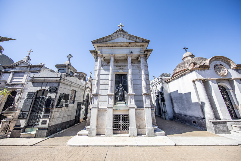 La Recoleta hřbitov Buenos Aires