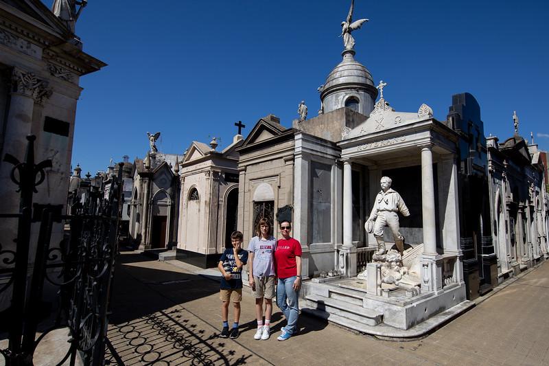 La Recoleta Buenos Aires hřbitov