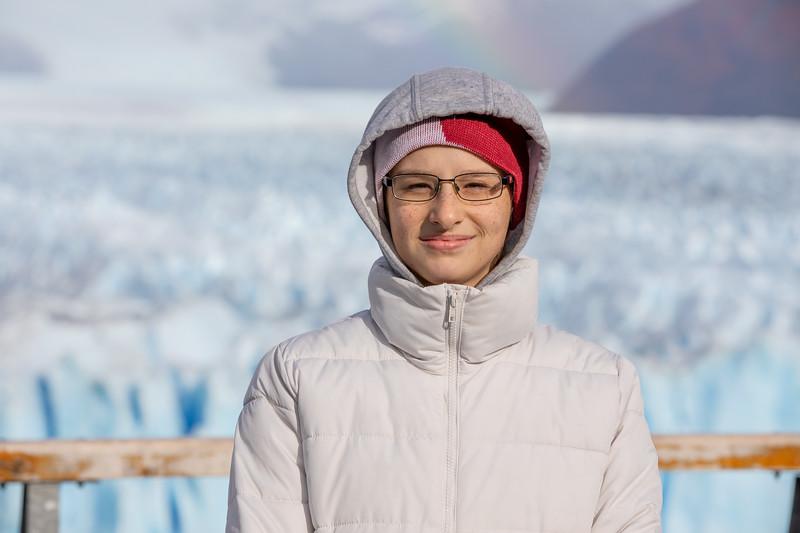 Tímea Jarošová ledovec Perito Moreno
