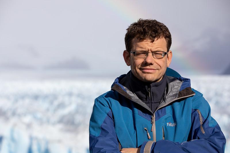 Martin Jaroš ledovec Perito Moreno
