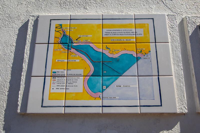 Mapa Río de la Plata