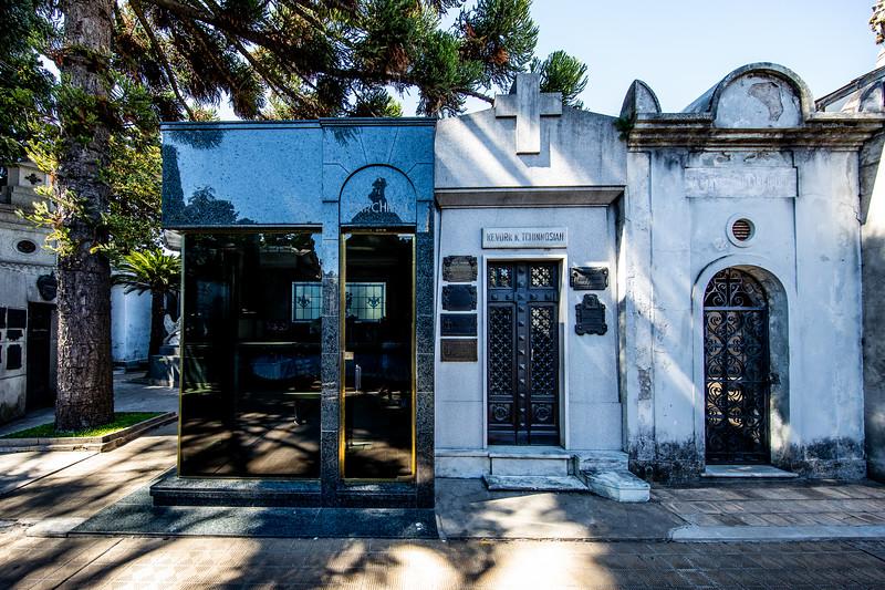 Buenos Aires La Recoleta hřbitov