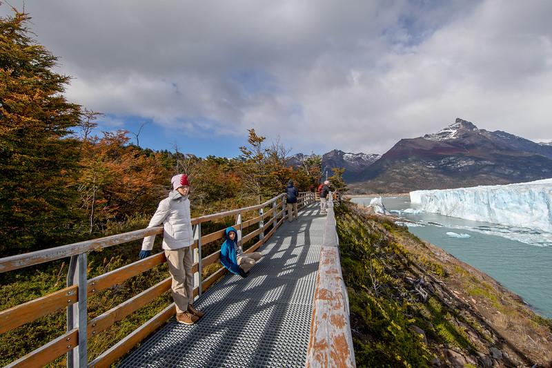 Ledovec Perito Moreno Argentina