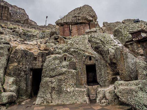 Geghard Monastery - rock hewn church