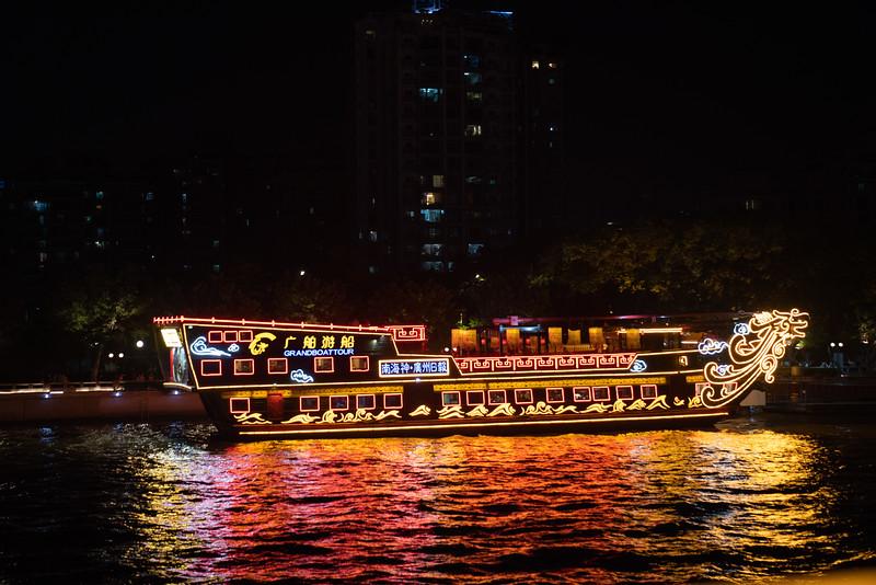 Lighted river cruiser