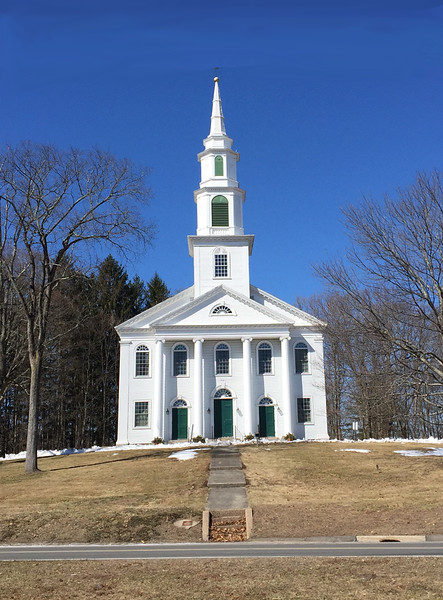Church of Christ Congregational, Granby, CT. March 19, 2018.