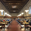Main Reading Room, New York Public Library.  March 20, 2018.