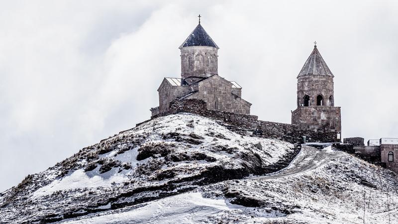 Gergeti Trinity Church, Kazbegi