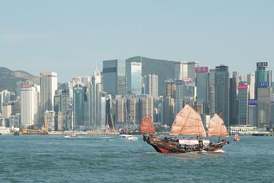Junk Boat. Hong Kong 2018. Photo by Weldon Weaver.