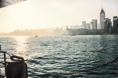 Star Ferry Pier.  Kong Kong 2018. Photo by Weldon Weaver.