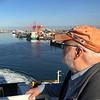 Leaving Dublin Port on the Ferry. June 3, 2018.