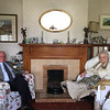 Joe with his mother in the house he grew up in in Limerick. June 1, 2018.