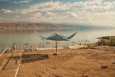 Dead Sea. West Bank. Nov 2018. Photo by Weldon Weaver.