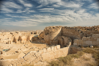 King Herod's Fortress Palace. West Bank.  Nov 2018. Photo by Weldon Weaver.